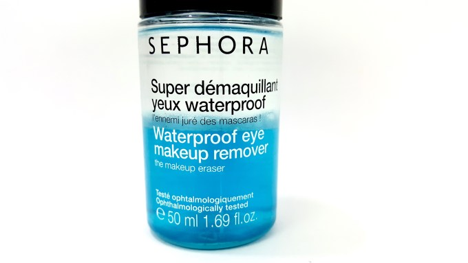 Sephora Waterproof Eye Makeup Remover Review photos