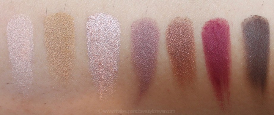 Anastasia Beverly Hills Modern Renaissance Palette Review Swatches Tempera Golden Ochre Vermeer Buon Fresco Antique Bronze Love Letter Cyprus Umber top row