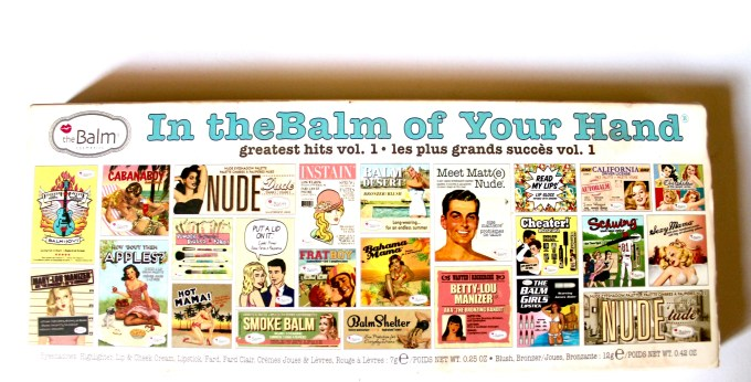 In the Balm of Your Hand Palette Review Swatches Packaging