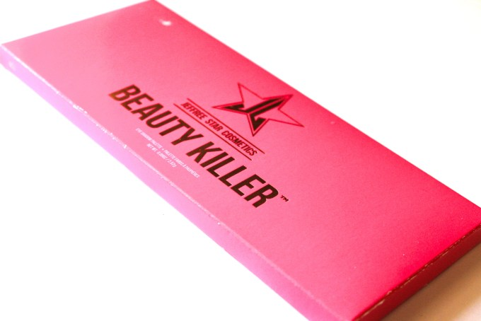 Jeffree Star cosmetics Beauty Killer Palette Review Swatches