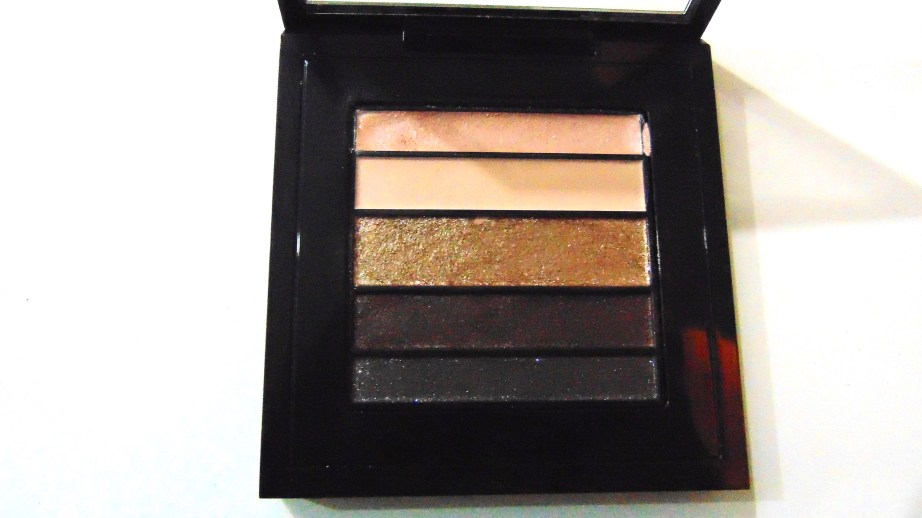 MAC Veluxe Pearlfusion Eyeshadow Palette Copperluxe Review Swatches focus
