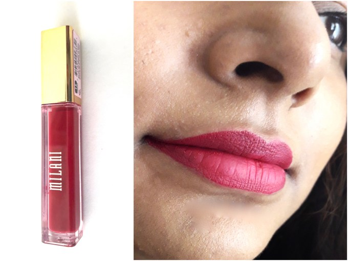 Milani Amore Matte Lip Creme Gorgeous Review Swatches Lipstick