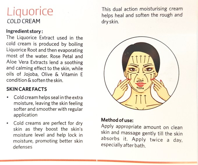 VLCC Skin Defense Liquorice Cold Cream Review info