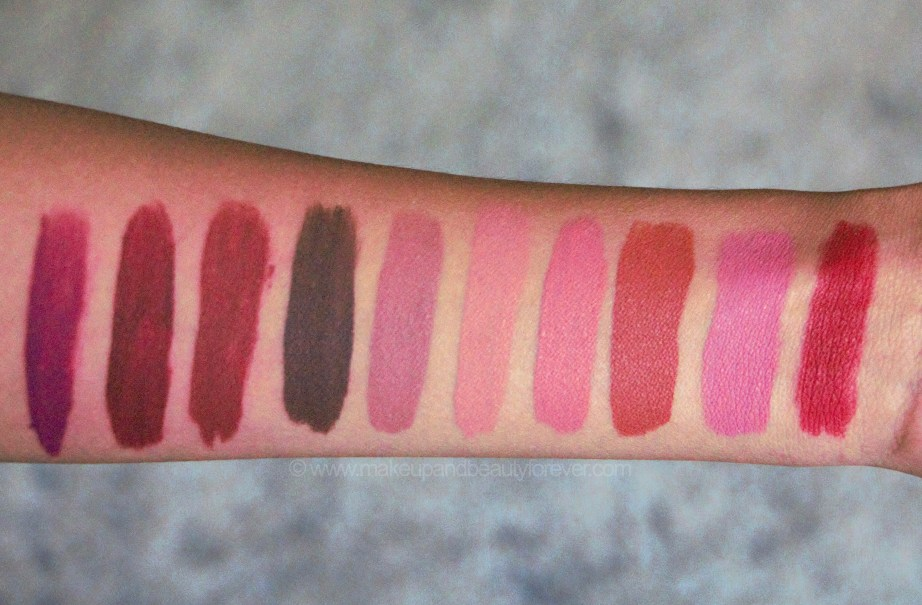 All Smashbox Always On Matte Liquid Lipsticks 20 Shades Review, Swatches Girl Gang Miss Conduct Disorderly True Grit Steping Out In Demand Babe Alert Out Loud Dream Huge Bawse MBF