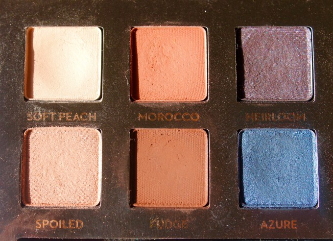 Anastasia Shadow Couture World Traveler EyeShadow Palette Review Swatches left