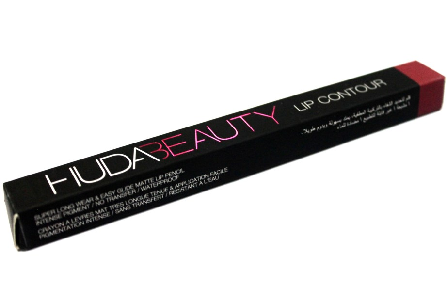 Huda Beauty Lip Contour Matte Pencil Trophy Wife Review