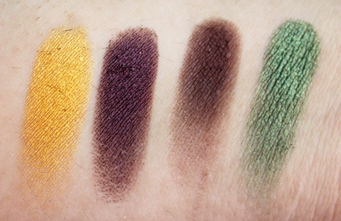 Juvia's Place Nubian 2 Yellow Eye Shadow Palette Review Swatches Nairobi Leyla Kenya Egypt MBF