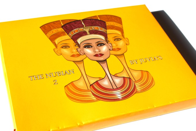Juvia's Place Nubian 2 Yellow Eye Shadow Palette Review Swatches