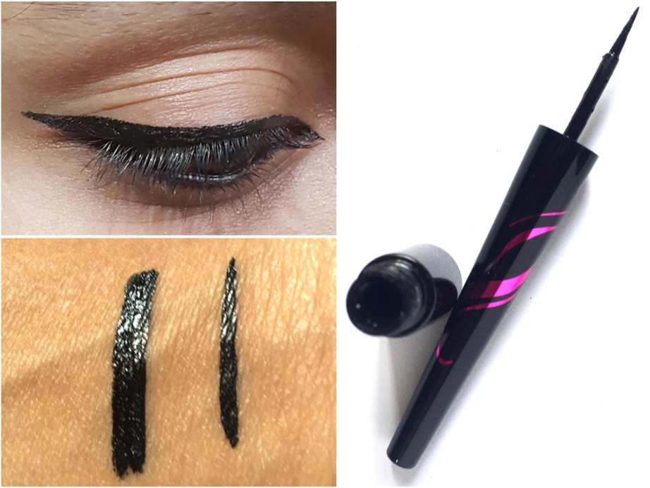 L'Oreal Paris Liner Magique Black Eye Liner Review Swatches MBF