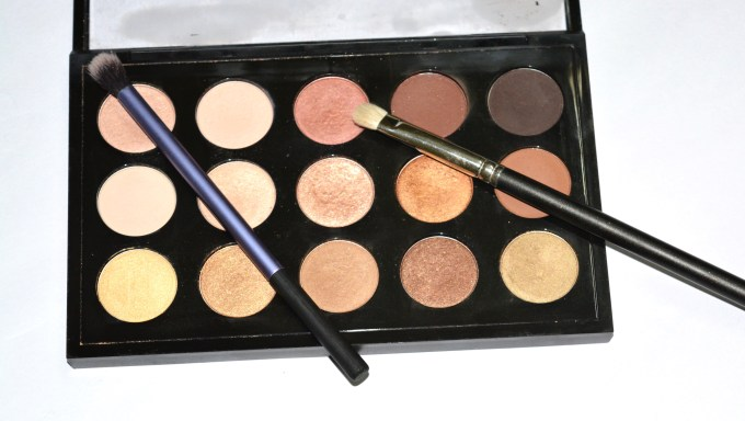 MAC Eyeshadow x 15 Warm Neutral Palette Review Swatches MBF Blog