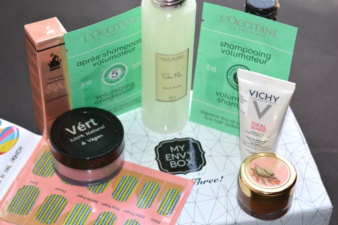 My Envy Box October 2016 3rd Anniversary Edition Review