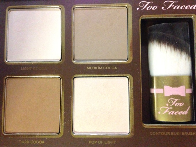 Too Faced Cocoa Contour Chiseled to Perfection Palette Review Swatches Focus