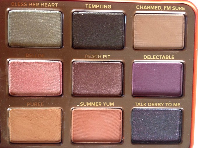 Too Faced Sweet Peach Eyeshadow Palette Review Swatches Second 3x3