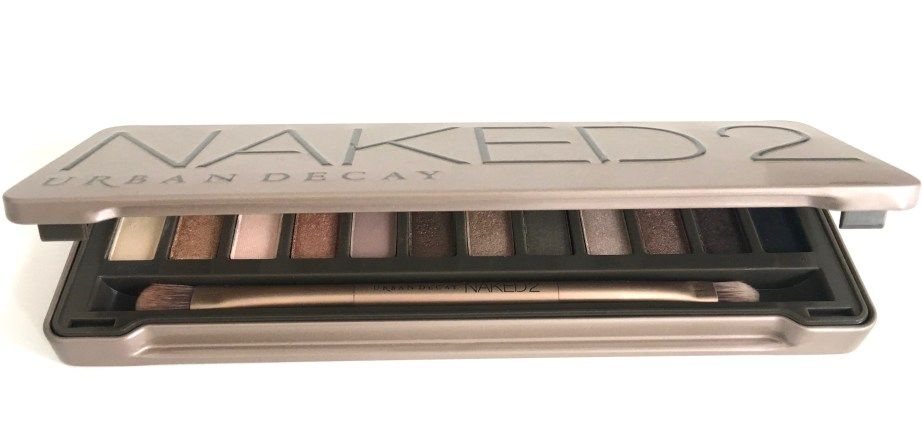 Urban Decay Naked 2 Eyeshadow Palette Review MBF