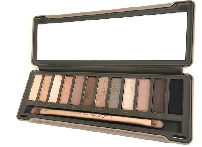 Urban Decay Naked 2 Eyeshadow Palette Review Swatches Focus