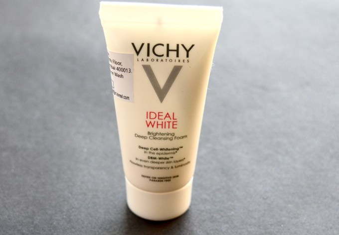 Vichy Ideal White Brightening Deep Cleansing Foam Review
