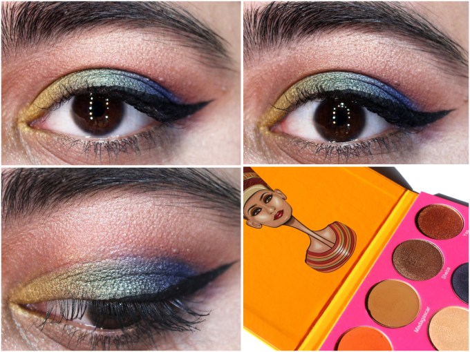 Juvia's Place Nubian 2 Yellow Eye Shadow Palette Review Swatches Morocco Madagascar Sheba Yaa Jezebel Suri Cleopatra Nefertiti Nairobi Leyla Kenya Egypt