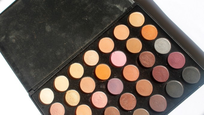 Morphe 35W 35 Color Warm Palette Review Swatches MBF Blog