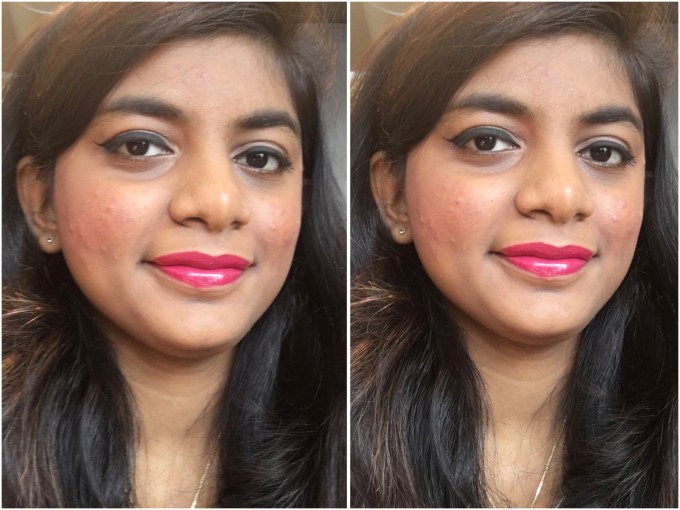 Colorbar 3D Matte Lipstick Cocktail Collection Cosmopolitan Review, Swatches MBF Makeup Look 2