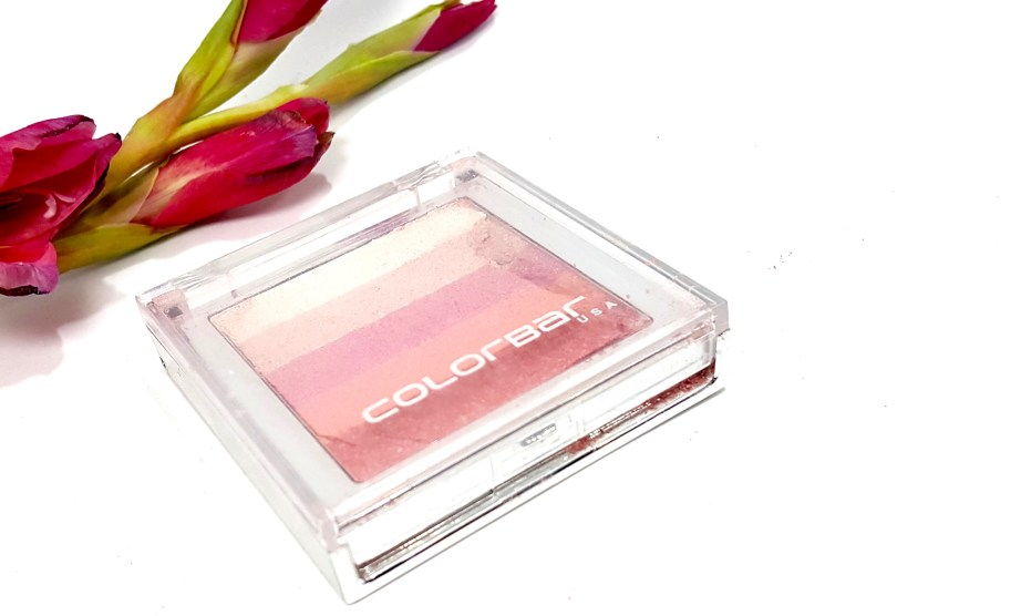 Colorbar Shimmer Bar Rosey Glaze Review Swatches MBF
