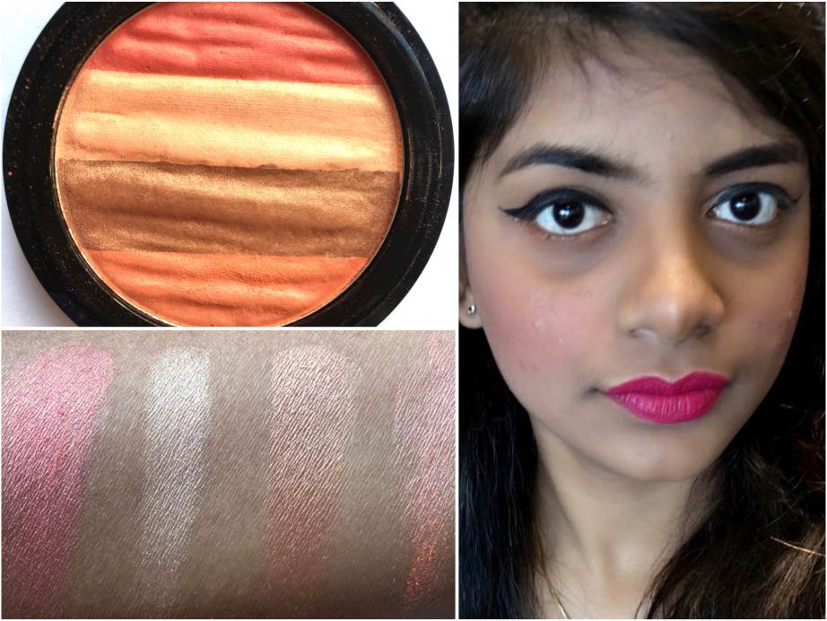 Lakme Absolute Illuminating Blush Shimmer Brick Coral Review, Swatches MBF Blog