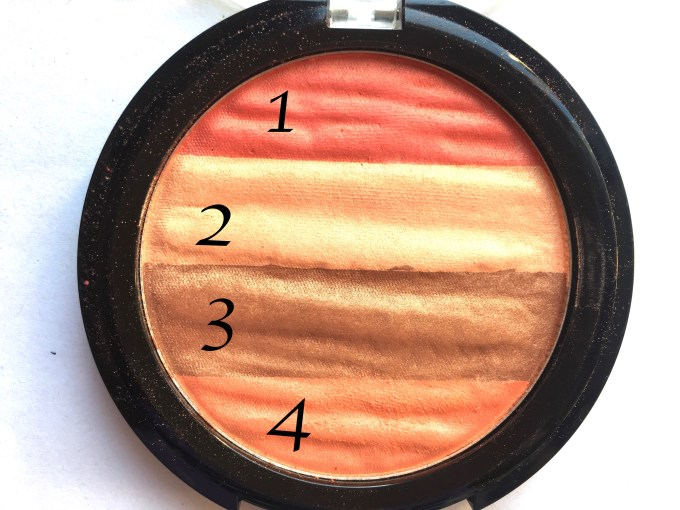 Lakme Absolute Illuminating Blush Shimmer Brick Coral Review Swatches Focus