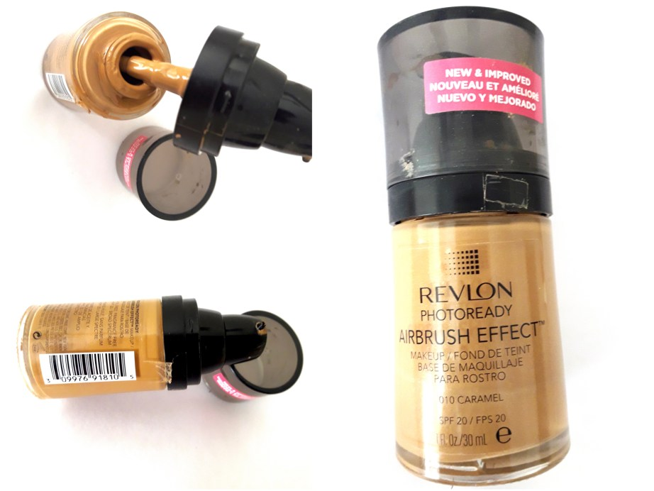 Revlon PhotoReady Airbrush Effect Makeup Foundation Review, Swatches, Demo