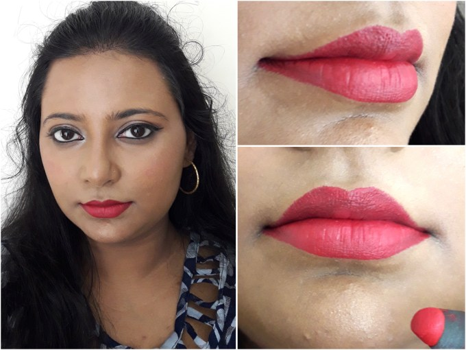 SUGAR Matte As Hell Crayon Lipstick Scarlett O'Hara 01 Review Swatches Lips MBF