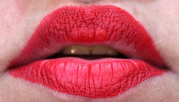 Smashbox Always On Matte Liquid Lipstick Bawse Review Swatches 4 hours