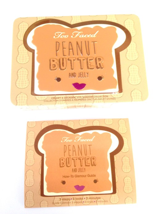 Too Faced Peanut Butter & Jelly Eyeshadow Palette Review Box