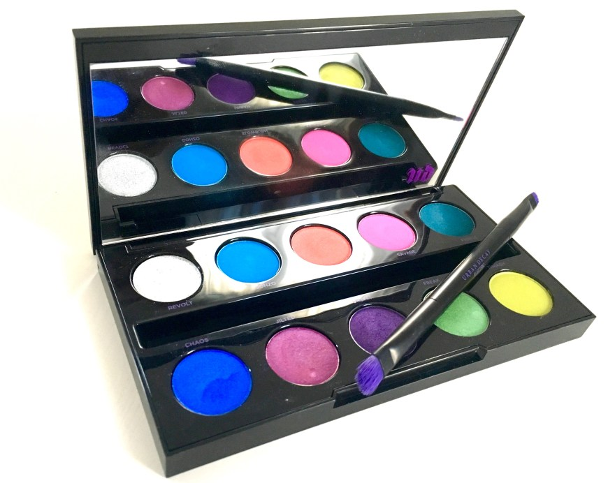 Urban Decay Electric Pressed Pigment Eyeshadow Palette Review MBF Blog