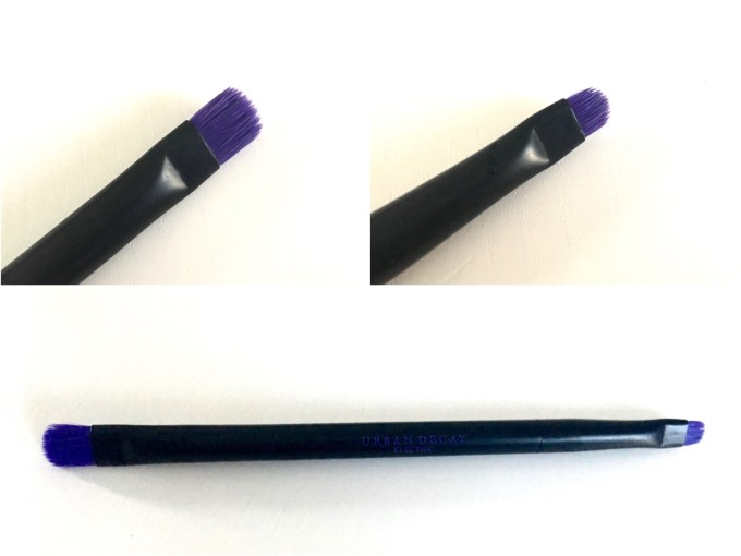 Urban Decay Electric Pressed Pigment Eyeshadow Palette Review Swatches Brush