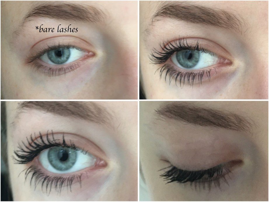 Urban Decay Perversion Mascara Review Swatches on Eye Lashes