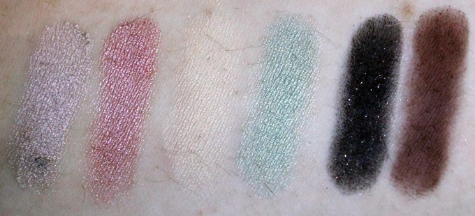 Anastasia Beverly Hills Self Made EyeShadow Palette Review, Swatches Right 1