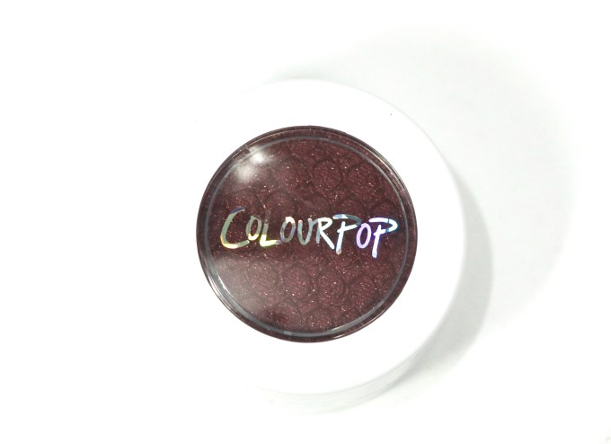 ColourPop Porter Super Shock Eye Shadow Review, Swatches 4
