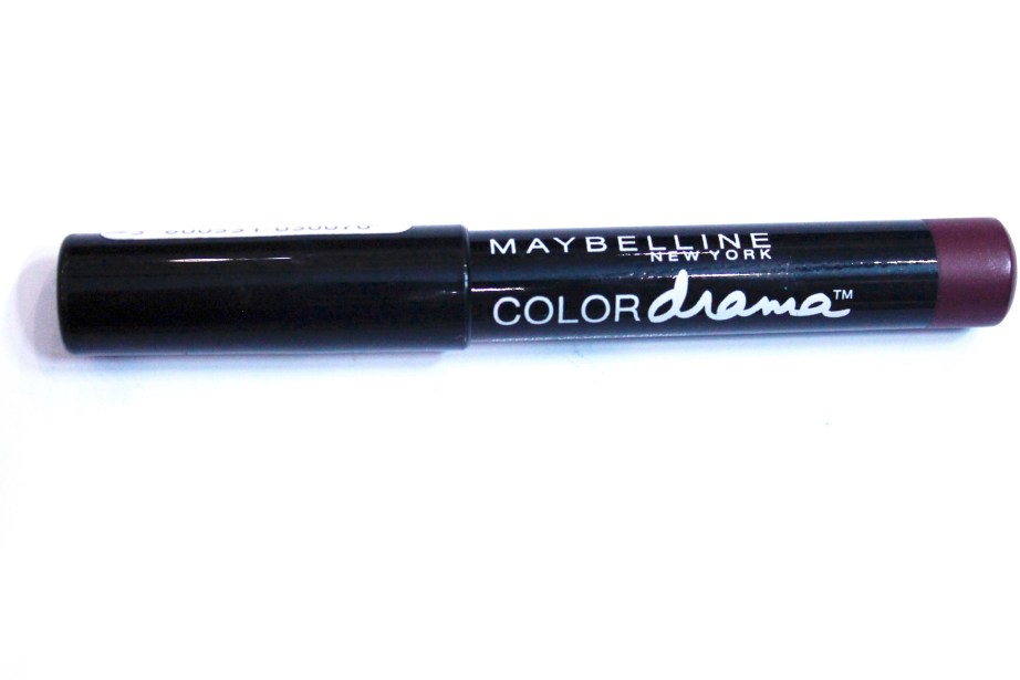 Maybelline Color Drama Intense Velvet Lip Pencil Berry Much Review, Swatches 2
