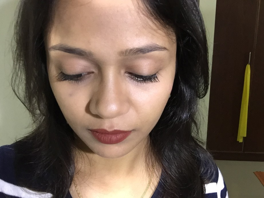 Maybelline Lash Sensational Mascara Review, Swatches MBF Makeup Look 2
