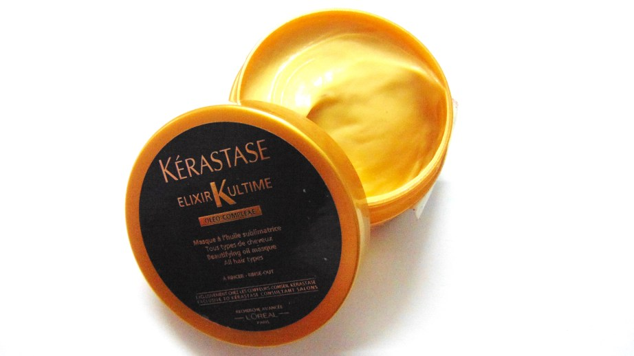 Kerastase Elixir Ultime Beautifying Oil Masque Review Hair Mask
