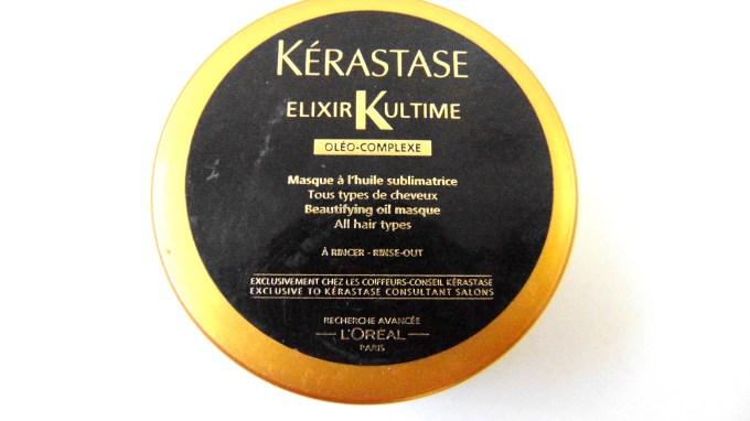 Kerastase Elixir Ultime Beautifying Oil Masque Review