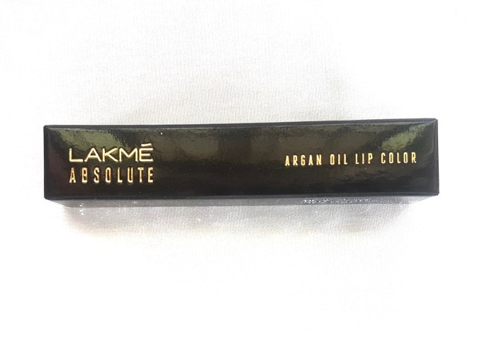Lakme Absolute Argan Oil Lip Color Juicy Plum Review, Swatches box 1