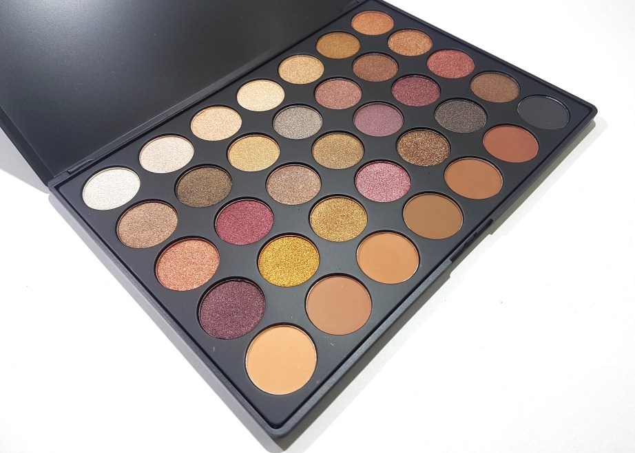 Morphe 35F Fall Into Frost Palette Review, Swatches MBF