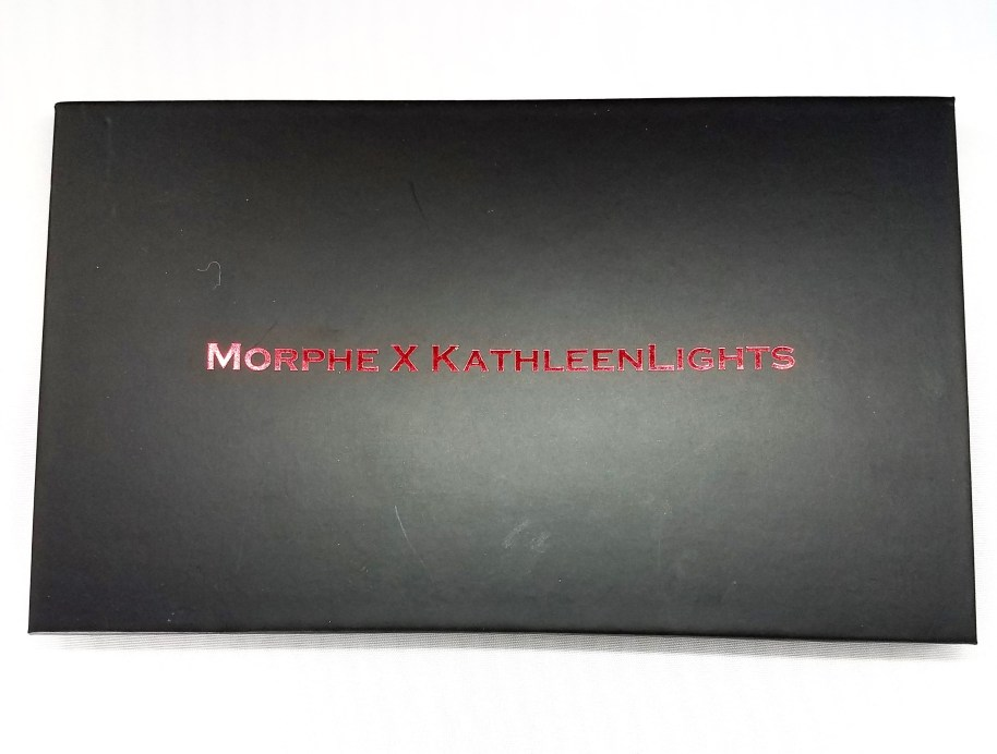 Morphe Kathleen Lights Eyeshadow Palette Review, Swatches Front