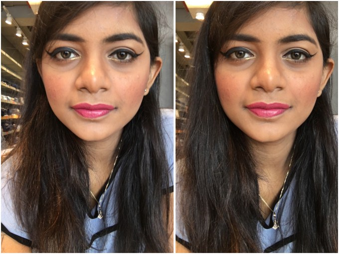 Nykaa So Matte Lipstick Devious Pink 03 M Review, Swatches MBF Blog Makeup Look