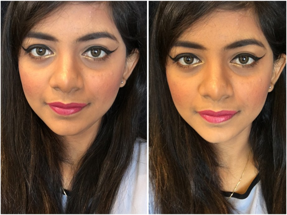 Nykaa So Matte Lipstick Devious Pink 03 M Review, Swatches MBF Makeup Look