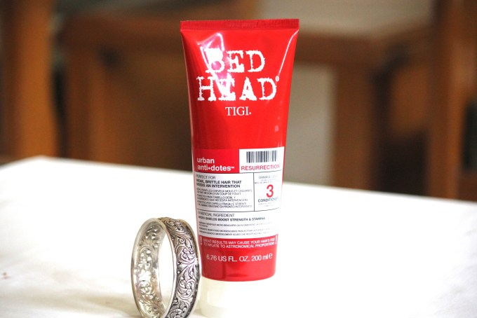 TIGI Bed Head Ubran Antidotes Resurrection Level 3 Conditioner Review MBF Blog