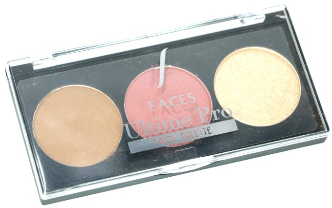 FACES Ultime Pro Face Palette Fresh Review, Swatches MBF