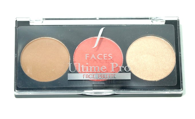 FACES Ultime Pro Face Palette Glow Review, Swatches