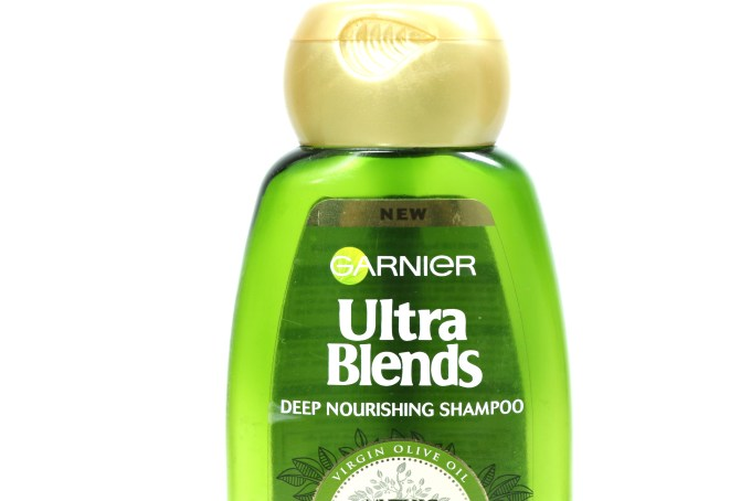 Garnier Ultra Blends Mythic Olive Deep Nourishing Shampoo Review Front