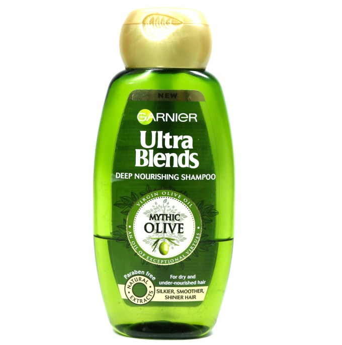 Garnier Ultra Blends Mythic Olive Deep Nourishing Shampoo Review MBF