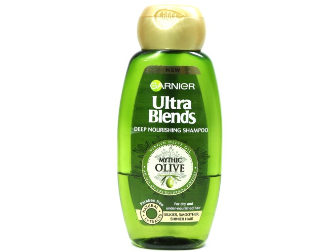 Garnier Ultra Blends Mythic Olive Deep Nourishing Shampoo Review